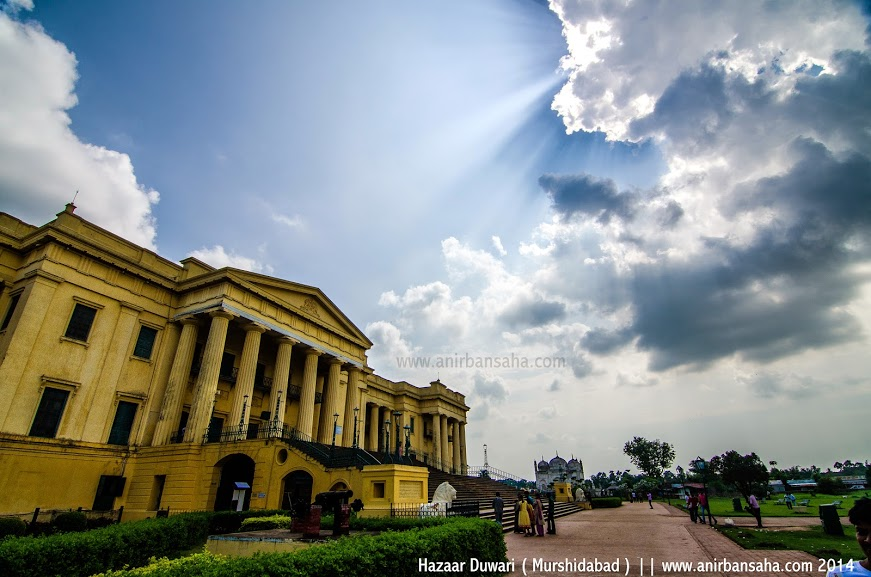 hazarduari palace, murshidabad tourism