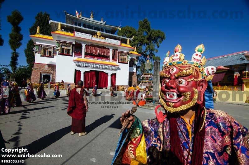 cham, chaam, chham dance, Tibetan dance, sikkim dance, bhutam dance