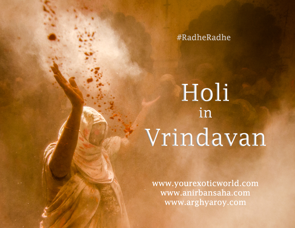 Holi Widow in Vrindavan
