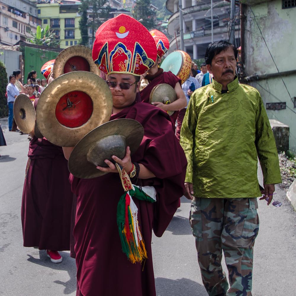 Saga Dawa sikkim, Saga dawa procession