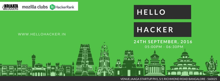 hello hacker, hello hacker bangalore, anirban saha in bangalore