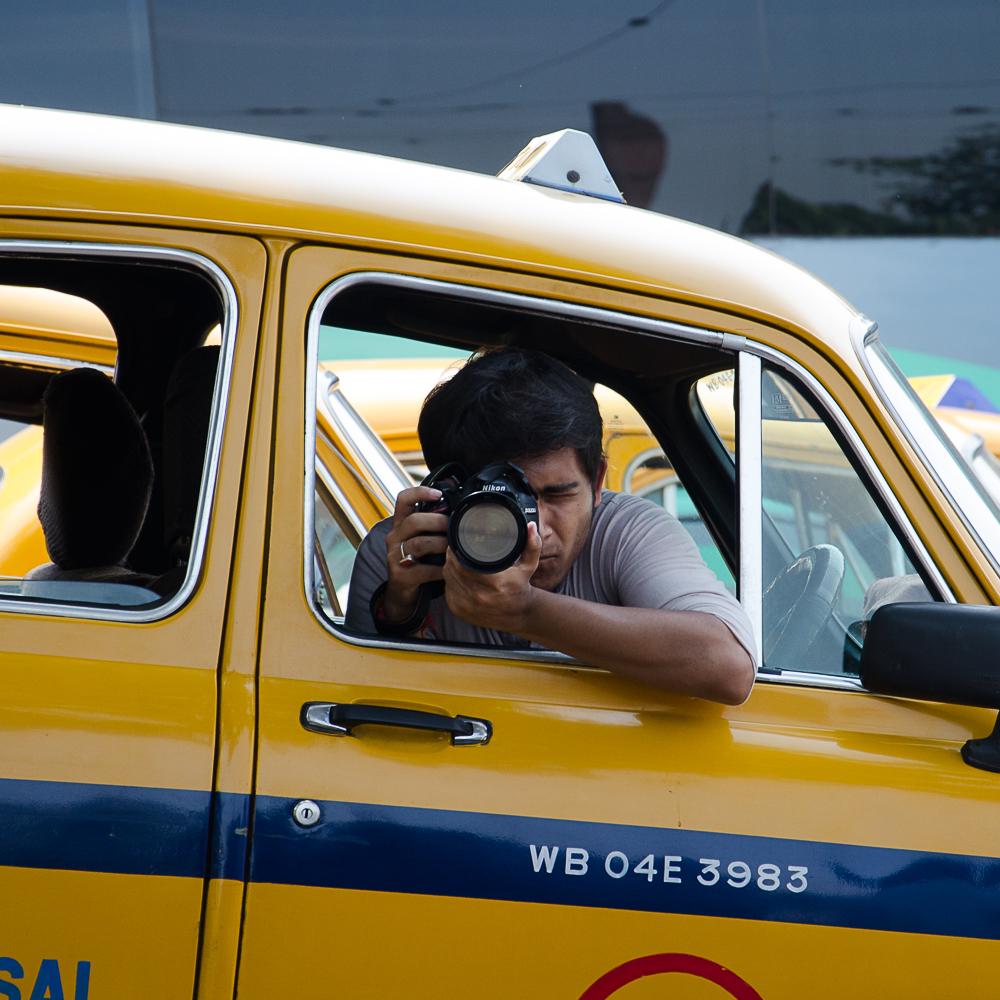 kolkata yellow taxis