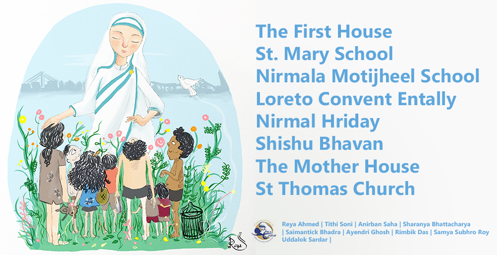 mother teresa places to see visit