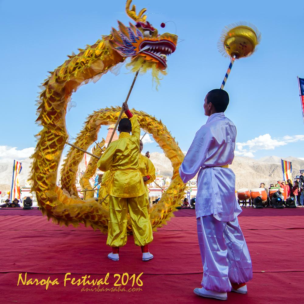 Dragon dance, Dragon dance naropa festival, dragon dance leh