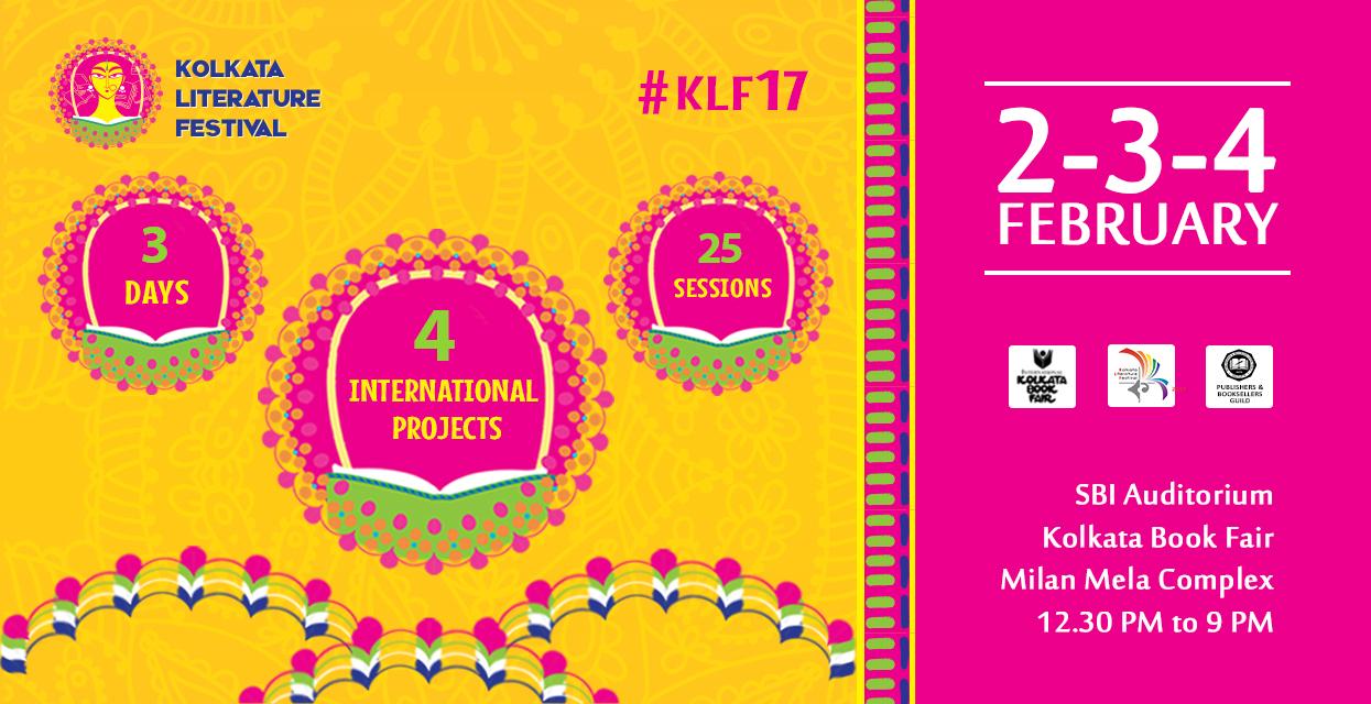 Kolkata Literature Festival Twitter post 2017