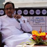 Chidambaram's session at Tata Steel Kolkata Literary Meet