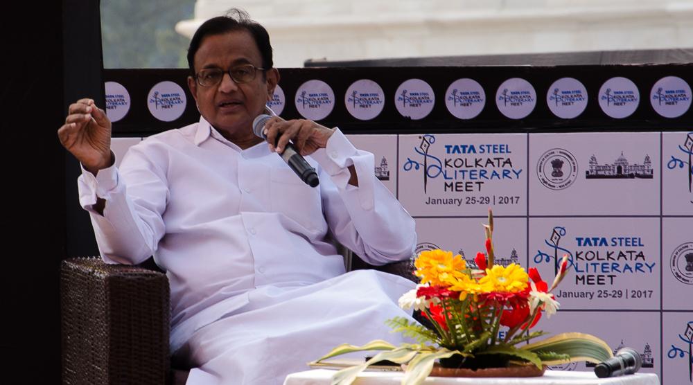 P. Chidambaram, Tata Steel Kolkata Literary Meet, Tata Steel Kalam