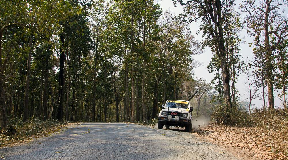 Himalayan Drive 5, Indian TSD car rally