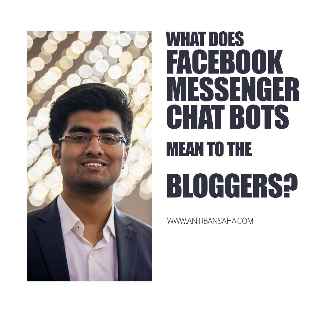 anirban saha facebook bot