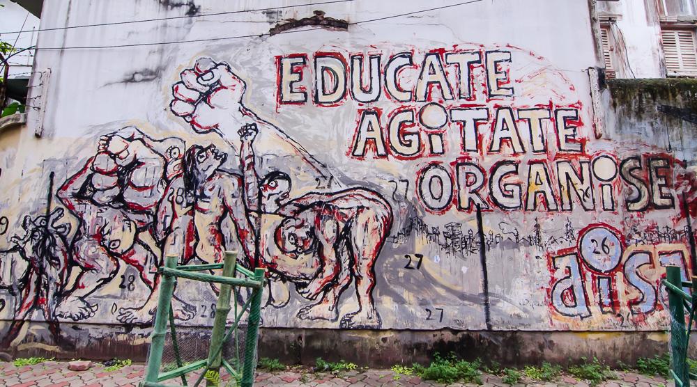Kolkata grafitti, Kolkata street art, kolkata street art festival
