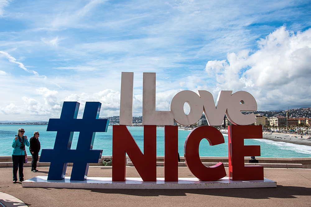 Nice France, I love Nice