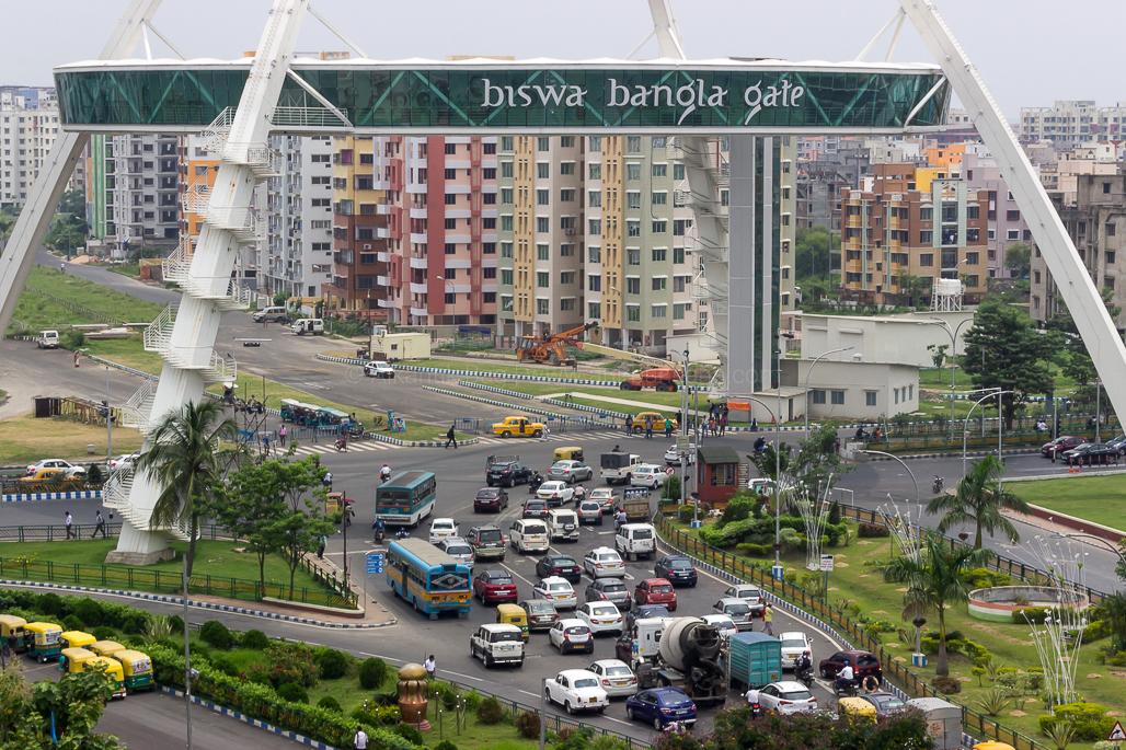 the biswa bangla gate, the kolkata gate