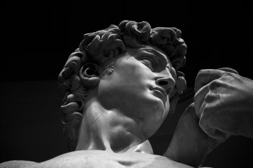 David, Michelangelo, statue