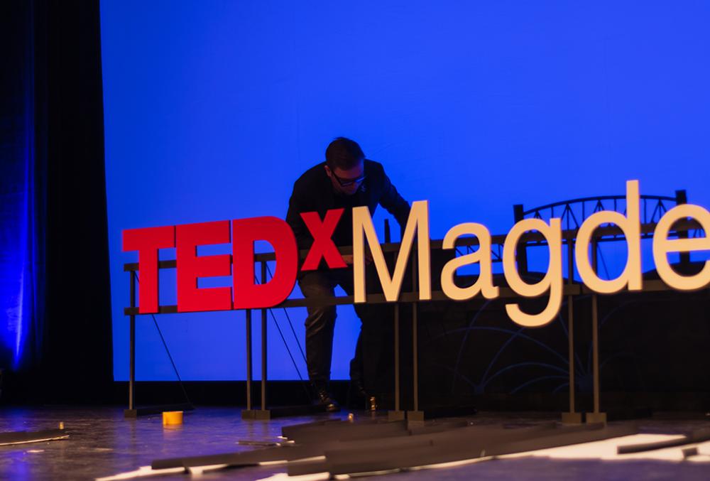 TEDx Magdeburg.