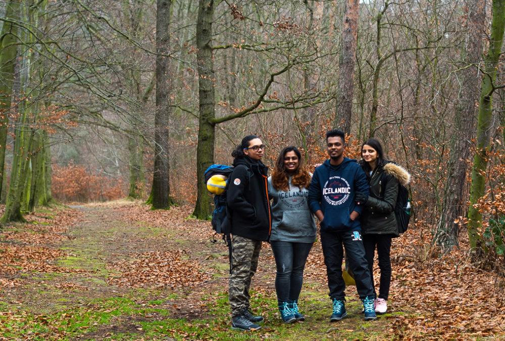 Nitin, Madhuri, Joel, Rekha.