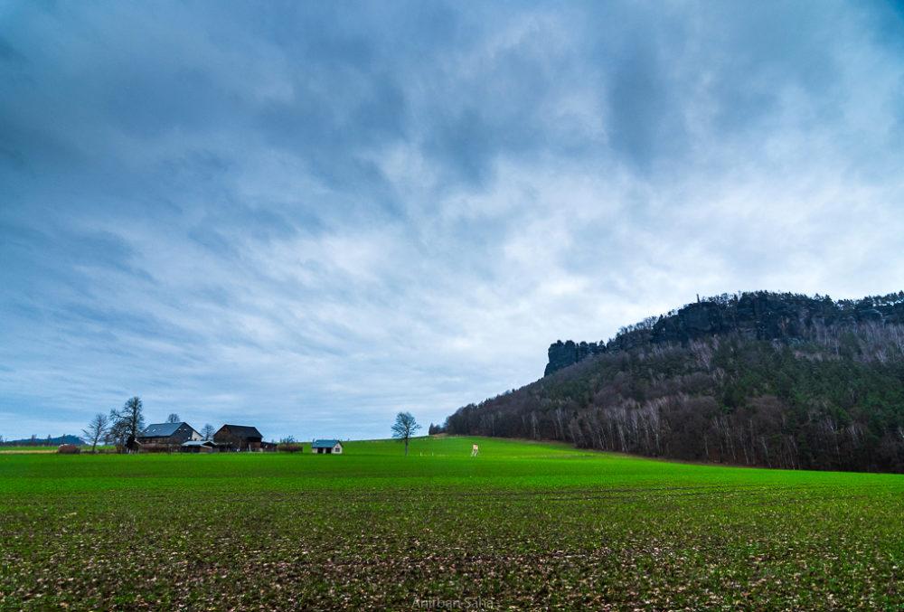 Königstein Elbe Sandstone Mountains