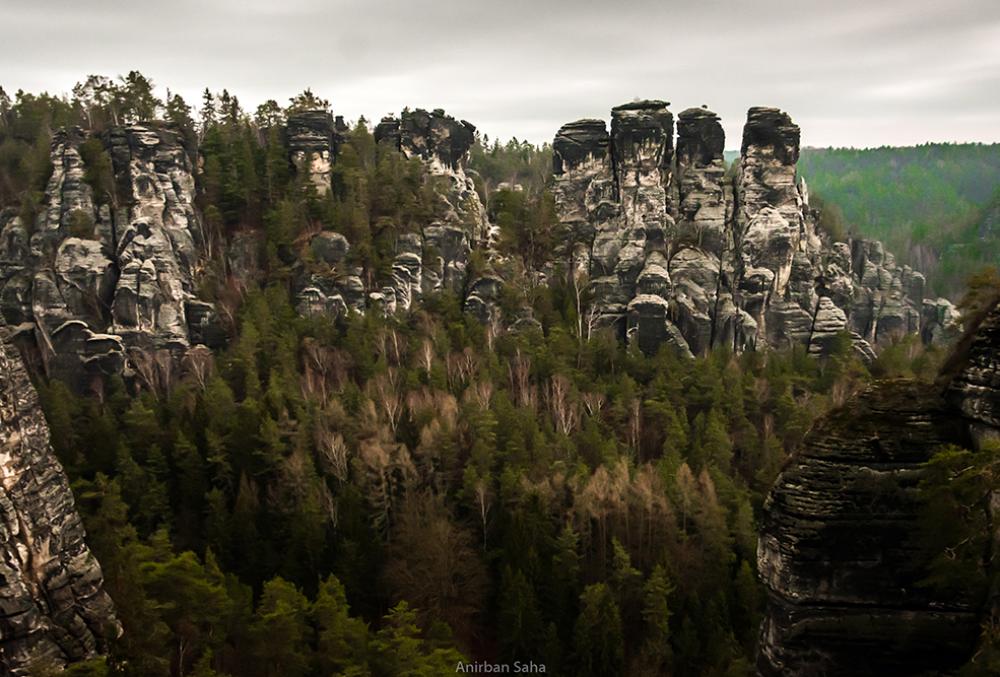 Elbe Standstones in the region.