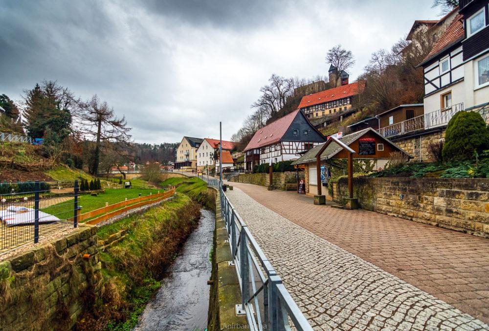 The village of Bastei