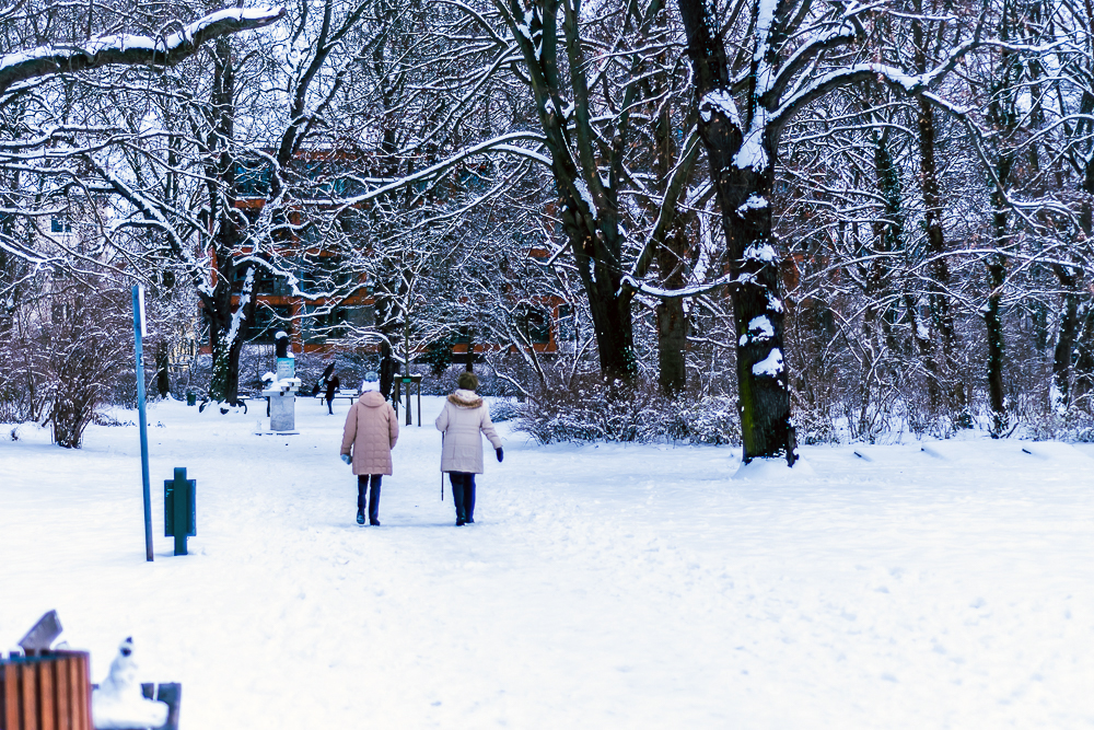 snow in magdeburg